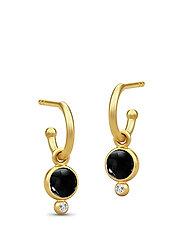 Prime Mini Hoops - Gold/Black - BLACK