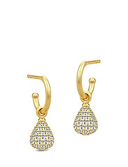 Morning Dew Mini Hoops - Gold - GOLD