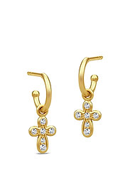 Prime Earring - Gold/Cubic Zirconia - GOLD