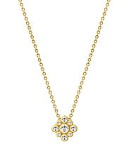 Peony Necklace - Gold - GOLD