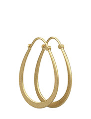 Julie Sandlau Classic pear hoop earring - Gold