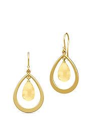 Prime Droplet Earrings - Gold/Citrine - GOLD / CITRINE