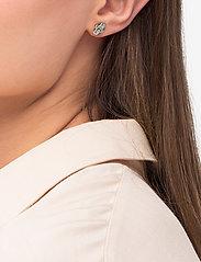 Blossom earring - Rhodium