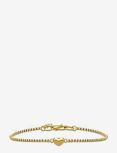 Love Bracelet ‐ Gold - dainty - gold