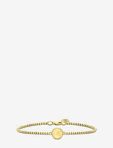 Primini Bracelet - Gold/Citrine - dainty - gold / citrine