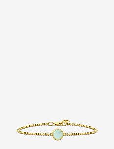 Primini Bracelet - Gold/Peru Chalcedon - GOLD / PERU CHALCEDON
