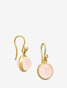 Prime Earring - Gold/Milky Rose - ROSE