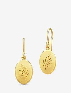 Classic Earrings - Gold - wiszące kolczyki - gold