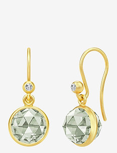 Primrose Earrings - hängande örhängen - gold
