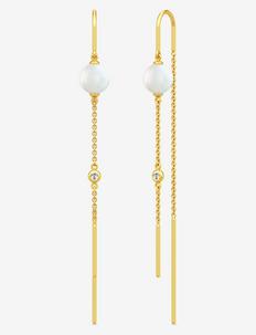 Ariel Earring - wiszące kolczyki - gold