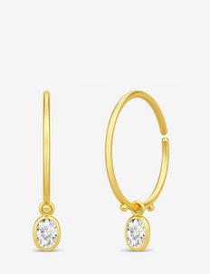 Fiona mini Hoops - hoops - gold