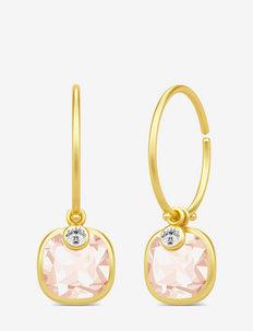 Olivia Mini Hoops - hoops - gold