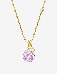 Ballerina Necklace - Gold/Morg - PINK
