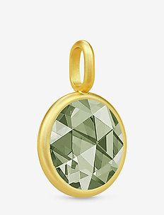 Cocktail Pendant - Gold/Dusty Green - pendentifs - gold / dusty green