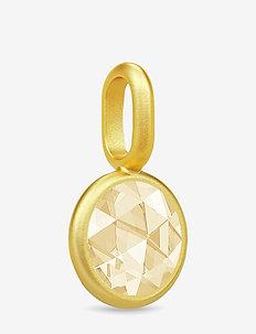 Cocktail mini Pendant - Gold//Lemon - GOLD / LEMON