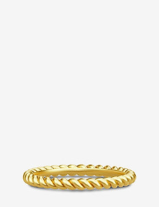Twisted Ring 52 - Gold - ringe - gold