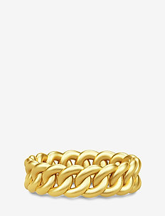Chain Ring 52 - Gold - bagues - gold