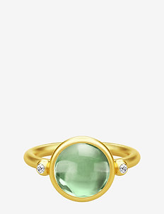 Prime Ring 52 - Gold/Green - GOLD
