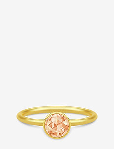 Cocktail Ring small - Gold/Champagne - ringe - gold / champagne