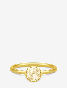 Cocktail Ring small - Gold/Lemon - GOLD / LEMON