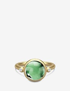 Prime Ring - Gold - ringer - green