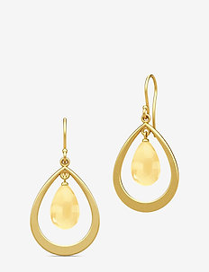 Prime Droplet Earrings - Gold/Citrine - GOLD / CITRINE