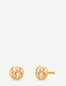 Cocktail Earstuds - Gold/Champagne - GOLD / CHAMPAGNE