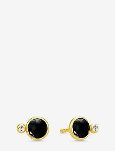 Prime Earstuds - Gold/Black - GOLD / BLACK