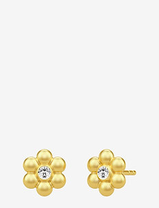 Bloom Earstuds ‐ Gold - studs - gold