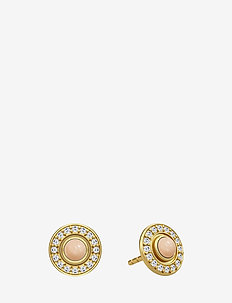 Moon goddess earring - Gold - PEACH