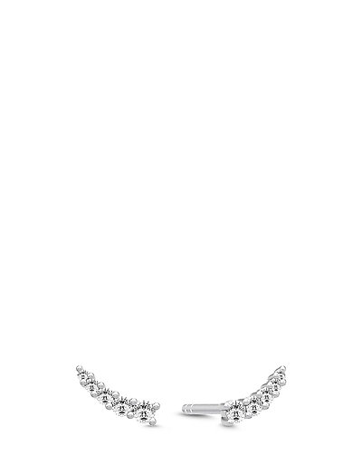 Lucy Earstuds - Rhodium - SILVER