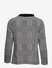 Jumperfabriken - Britta Glencheck - blouses à manches longues - black - 1