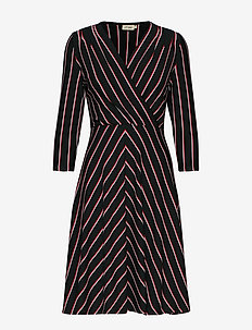 Celia Stripe - BLACK