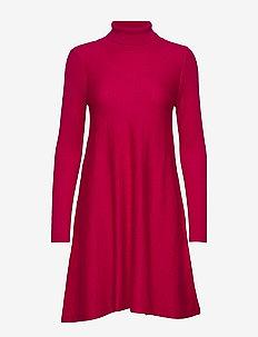 Carolina - midi kjoler - cerise