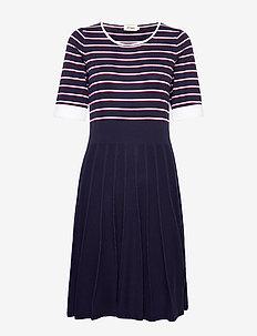 Lovis - do kolan & midi sukienki - navy