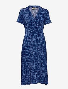 Wendy - wrap dresses - blue