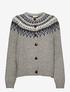 Joelle - christmas sweaters - grey