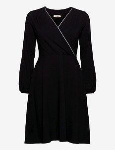 Lisbeth - omslagskjoler - black