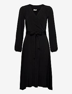 Annie - robes portefeuille - black