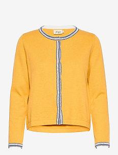 Ingalill - cardigans - yellow