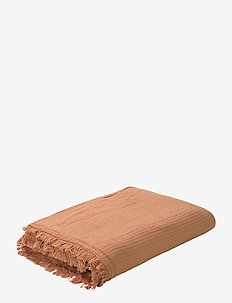 View Bedspread ochre 280x260 cm - bettüberwürfe - ochre
