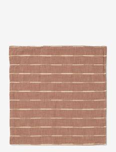 Softly Pudebetræk 50x50 cm - puder - dusty red