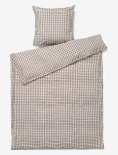Bæk&Bølge Sengetøj /birk 140x200 cm NO - sengesæt - grey/birch