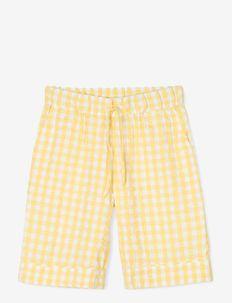 Bæk&Bølge Jenda shorts - shorts - yellow/white