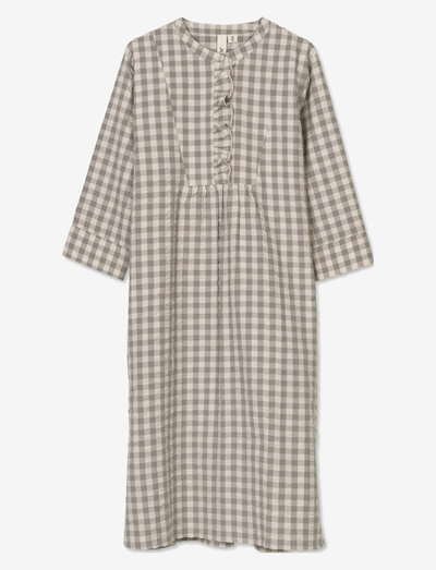 Bæk&Bølge Sonja dress - yöpaidat - grey/birch