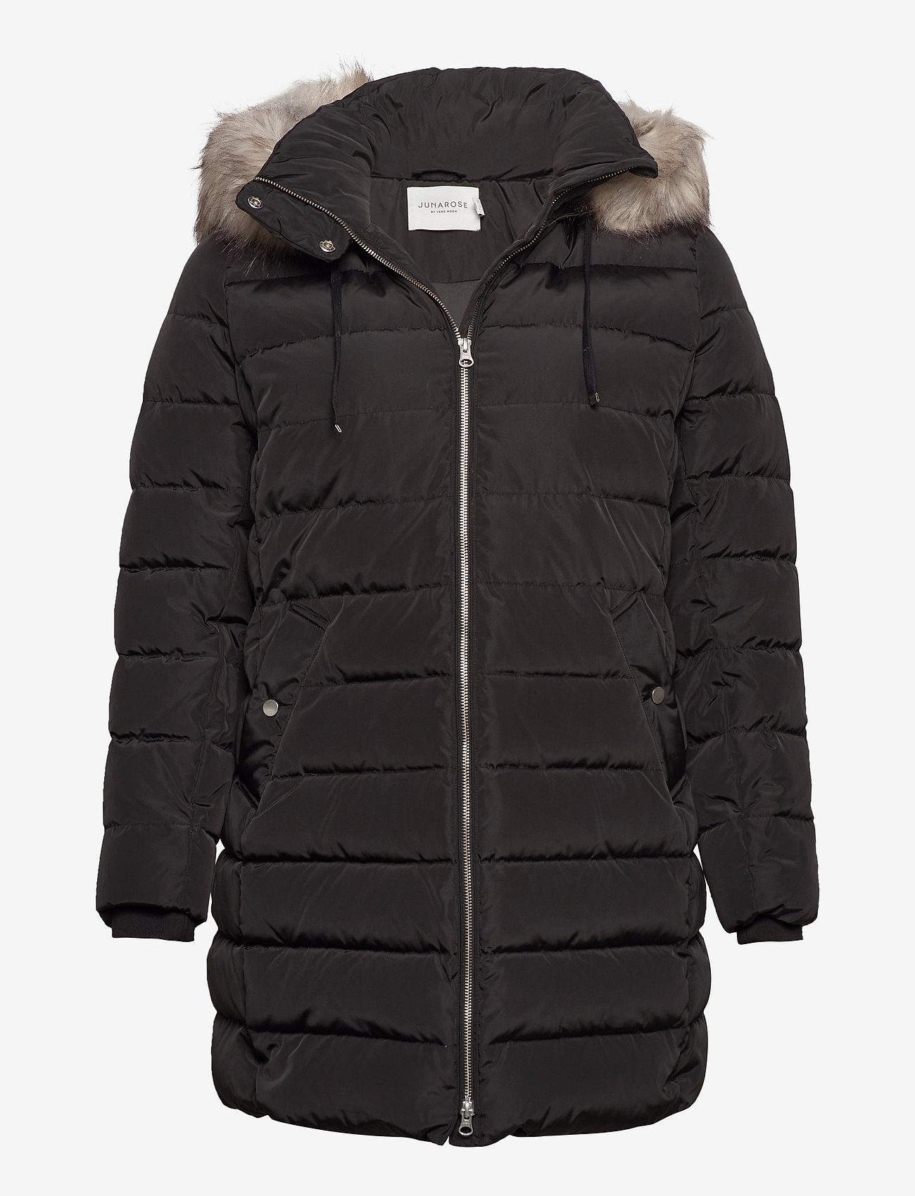 JunaRose - JRDENVA LS DOWN JACKET - S GA - manteaux d'hiver - black - 0