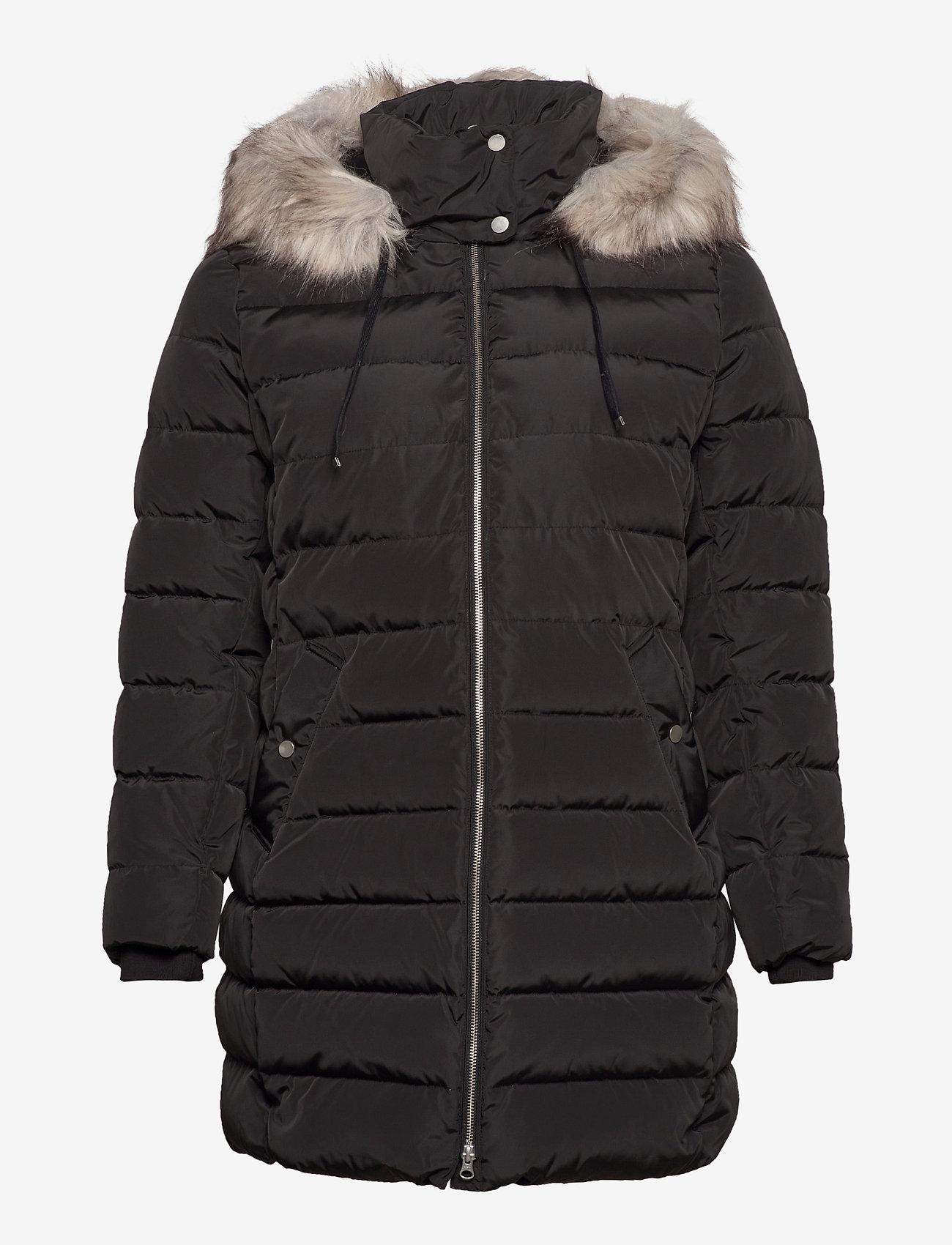 JunaRose - JRDENVA LS DOWN JACKET - S GA - manteaux d'hiver - black - 1