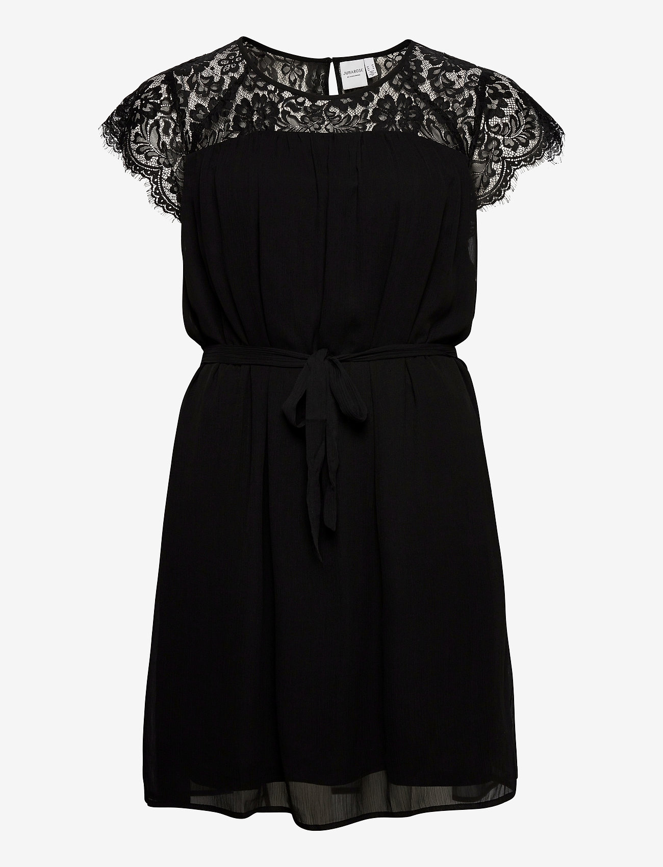 JunaRose - JRCAROLINA SS DRESS - K - lyhyet mekot - black - 0
