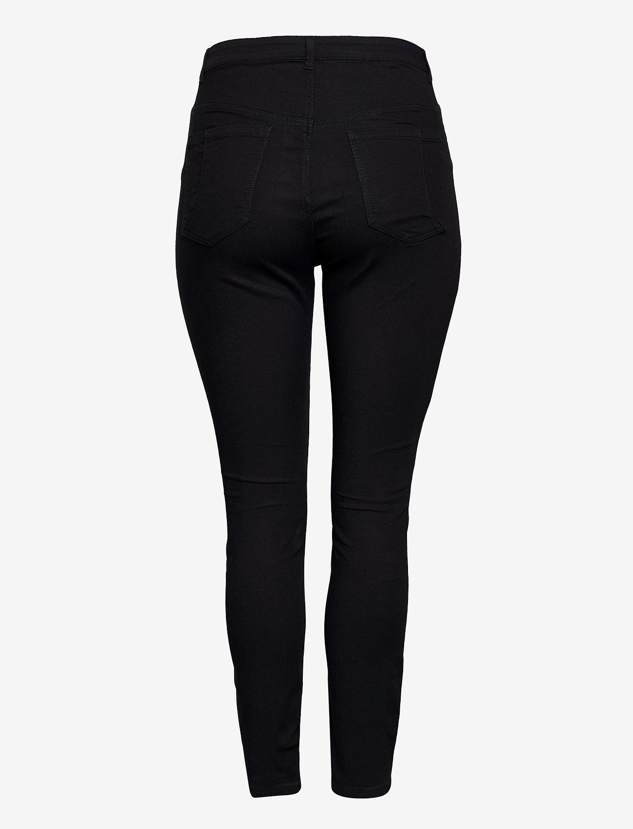 JunaRose - JRZEROTANJA SL BLACK JEANS - K NOOS - slim jeans - black - 1