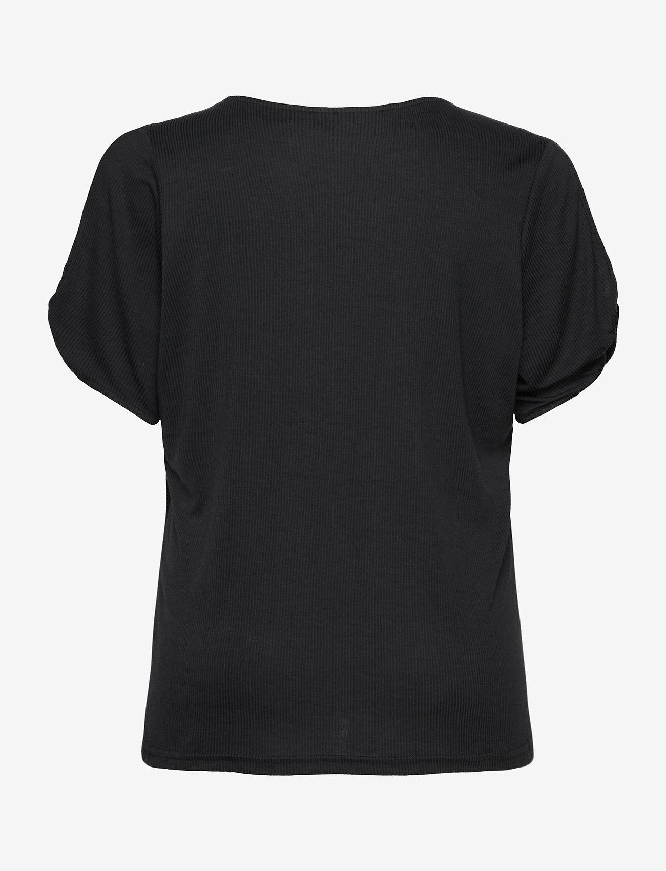 JunaRose - JRMAYSIN SS TOP - S - t-shirts - black - 1